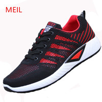 Mens Sneakers Casual Mesh Breathable Shoes Mens Casual Shoes Hot Sale Trainers Men's Tenis Feminino Casual Shoes Men Footwear