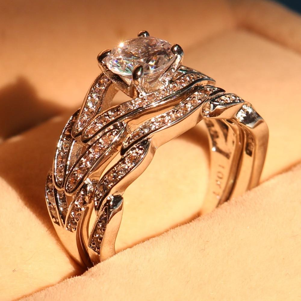 online get cheap wedding set ring gold white -aliexpress