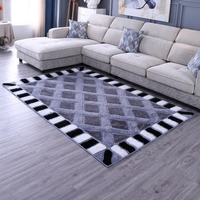 Aliexpress.com : Buy Nordic Carpet Livingroom Thick Shaggy ...