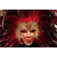 Beautiful mask diamond Embroidery diy painting mosaic 3d cross stitch picture H741