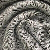 Silver fiber elastic jacquard mesh fabric 95(g/� ��antibacterial radiation proof conductive cloth for pregnant clothing smart w