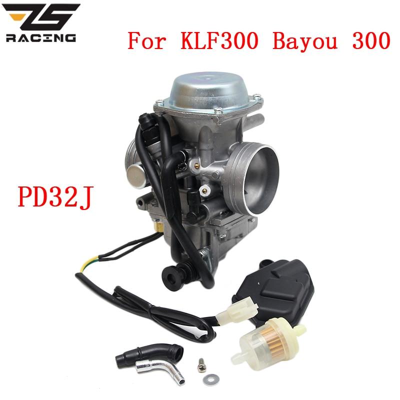 ZS Racing Motorcycle Carburetor PD32J For HONDA TRX300 TRX450 TRX 300 TRX 450 MOTOR CARBURETOR