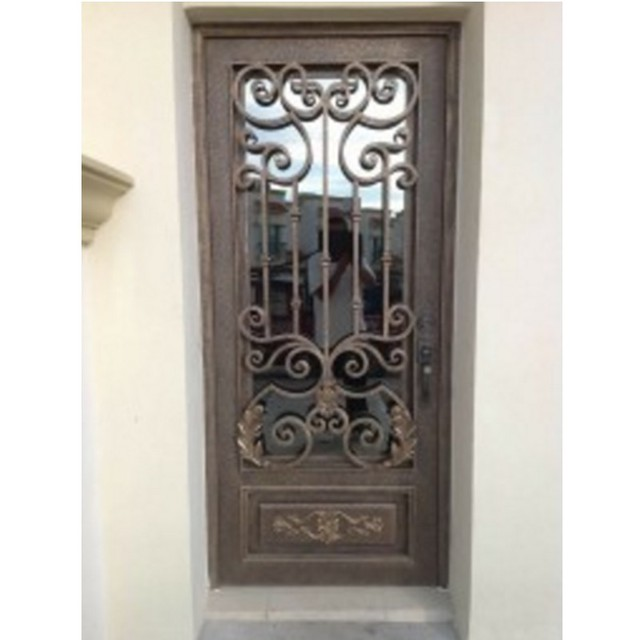 Steel Security Doors Aluminum Window Doors Interior Swinging Doors