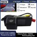 FUWAYDA SONY שבב CCD רכב המבט האחורי הפוך ערכת מצלמה עבור שברולט Aveo פורץ הדרך אופל מוקה Cadillas SRX CTS עמיד למים HD