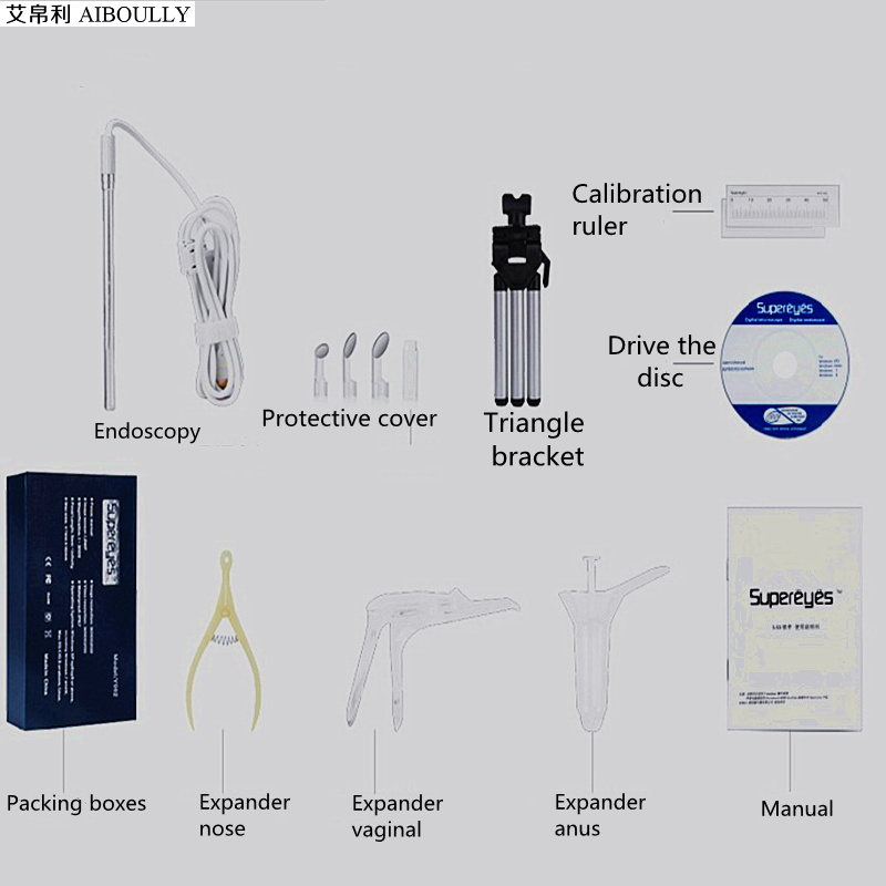 Aiboully 500x handheld 500 times microscope 7mm endoscope electronic aiboully 500x handheld 500 times microscope 7mm endoscope electronic magnifier oral oral nose anal gynecological test crack view in borescopes from tools on ccuart Images