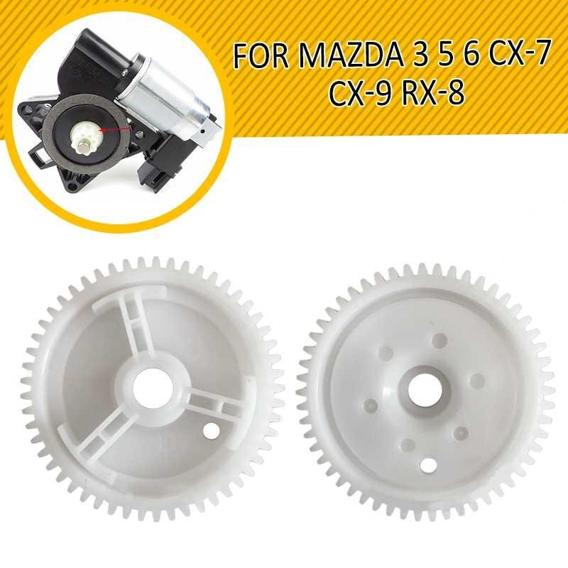 2019 Nieuwe Front Achter ABS Power Raammechanisme Motor Gear Voor MAZDA 3 5 6 CX-7 CX-9 RX-8 Duurzaam Auto vervangende Onderdelen 5.5CM