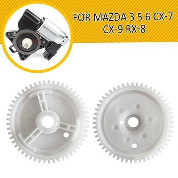 2019 nowy przedni tył ABS regulator podnośnika szyby przekładnia silnika dla MAZDA 3 5 6 CX-7 CX-9 RX-8 trwałe część zamienna części 5 5CM tanie i dobre opinie Q9050902 Okno dźwigni i okna uzwojenia uchwyty Window Regulator Adjustment Motor Gear 0 03kg