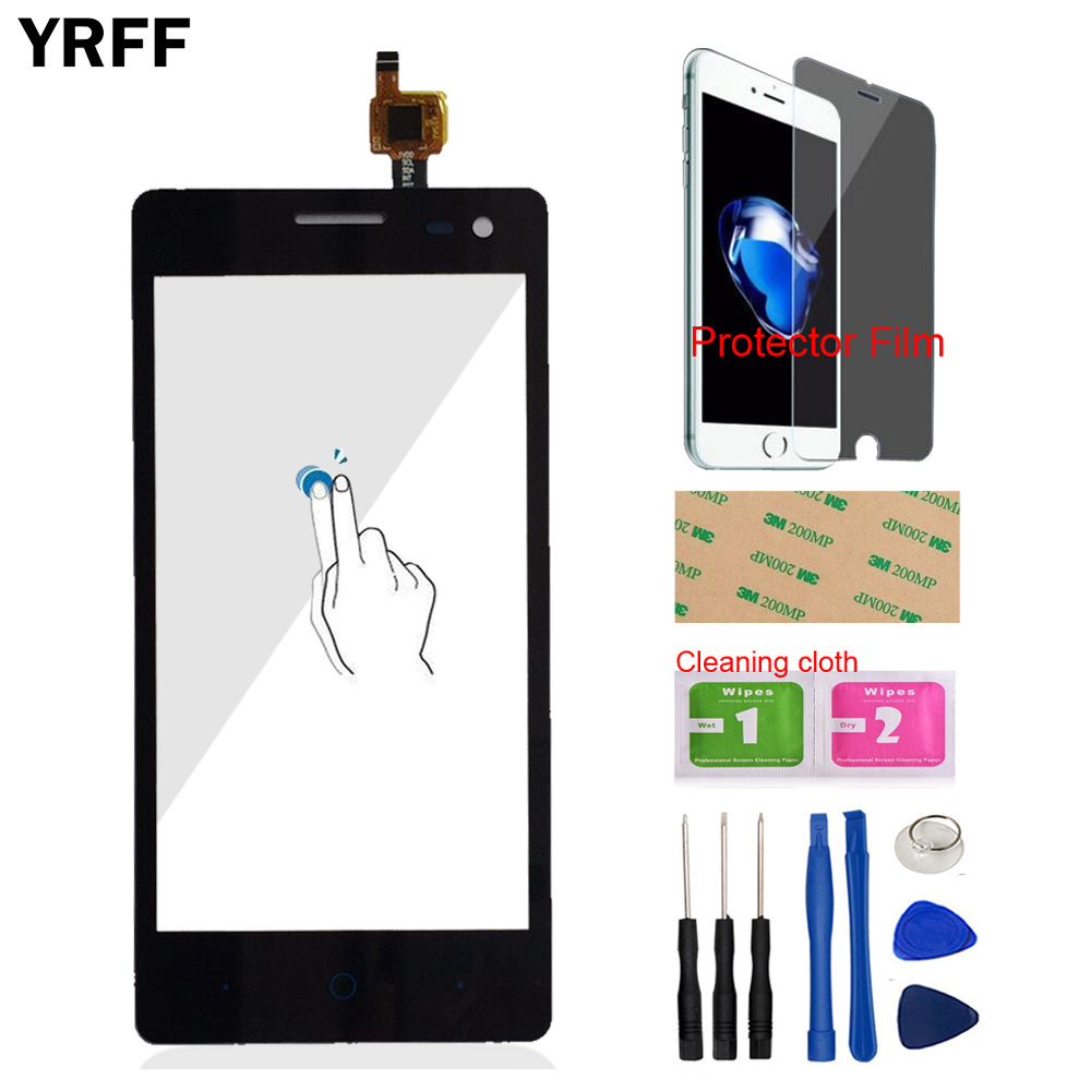Phone Touch For ZTE Blade GF3 T320 V831 Touch Screen Digitizer Front Glass Panel Outer Lens Sensor Tools Protector Film Adhesive