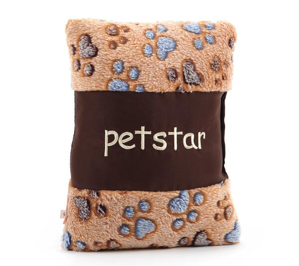 On sale Pets interactive sound toys educational toys pet dog cat soft pillow pets products 1pcs