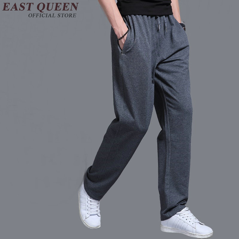 Elastic waist sweatpants male cheap sweatpants sportswear pants workout jogger trousers  ...