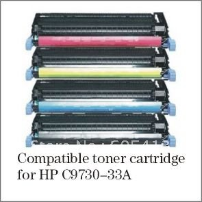 Free Shipping C9730A,C9731A,C9732A,C9733A Compatible Color Toner Cartridge for HP Color LaserJet 5500/n 5550