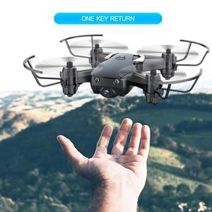 Image 3 - Мини Дрон Eachine E61hw с HD камерой 720P, Радиоуправляемый квадрокоптер с режимом удержания высоты, RTF Wi Fi FPV, складной вертолет, игрушки VS HS210