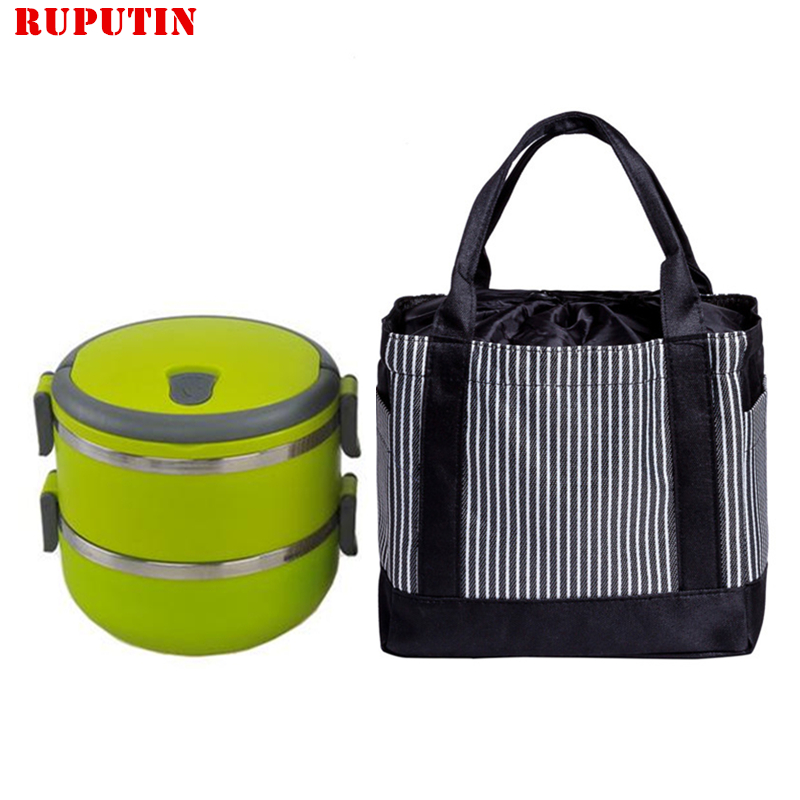 RUPUTIN Food Picnic Bag Lunch Box Insulation Bags Insulated Lunch Bags Portable Student Lunch Box Thermo Lunch Bags Cooler Tote 8l portable peva lunch bag shawls picnic box thermos package bolso cooler insulated cool bags can cooler bolso frio ice package