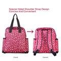 4Colors Fashion Mommy bag Large Capacity Multi-functional Maternity Backpack Nursing bag Baby Diaper Bag Mommy Shoulder Bag