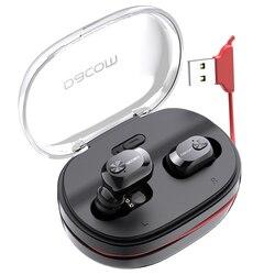 DACOM K6H Pro prawdziwe bezprzewodowe słuchawki douszne TWS słuchawki Bluetooth Mini niewidoczne słuchawki douszne dla iPhone Samsung