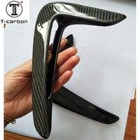 For BMW F32 F36 Carbon fender light trim 4 Series F32 F33 F36 Replacement Carbon Fiber Fender Trim car accessories 2014 2016