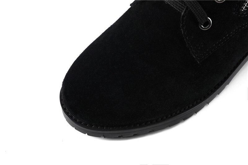 Gran Las Para Vaca Plush Superior Calidad Talones Pu Black Tamaño 1 Short 2 Mujeres Caliente Suede Ankle 2018 Mujer 34 Botas Med De Memunia Boots Venta black Moda 44 xfPW0