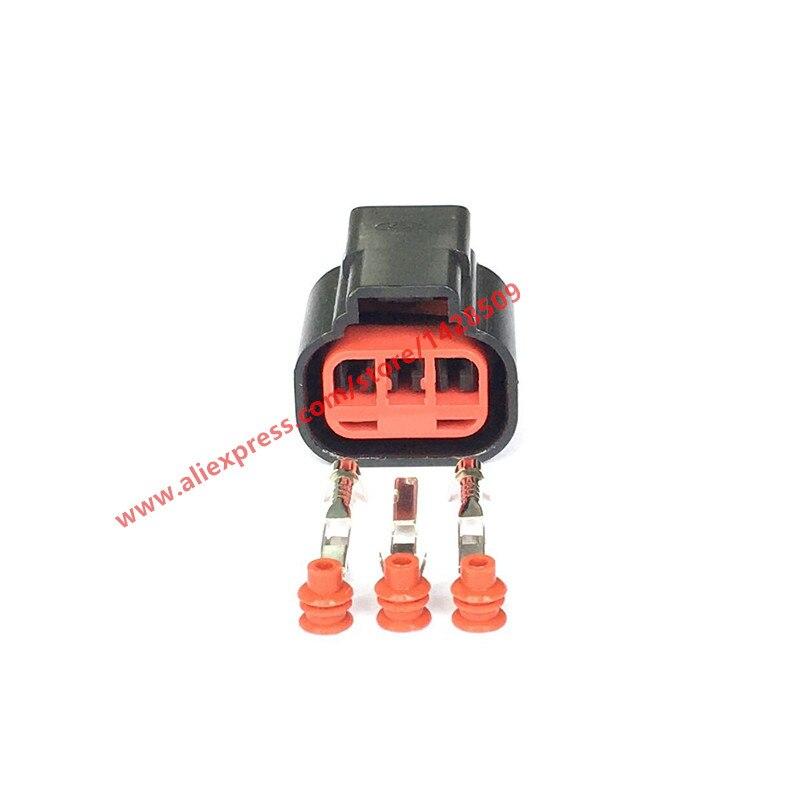 10 Sets 3 Pin Auto Crankshaft Camshaft Sensor Plug