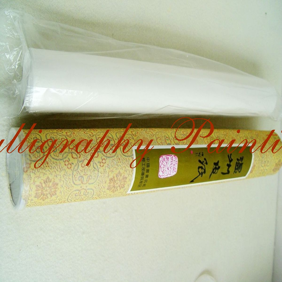 Wenzhou Rice Xuan Paper Mulberry Bark Fiber Roll Ink Brush Painting Calligraphy