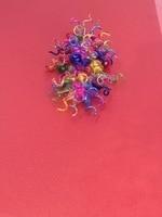 Griban европейский бренд Стиль садовые цветы настенные светильники Цветок Гостиная Ресторан Спальня светильники креативного освещения