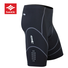цена на SANTIC Cycling Shorts MTB for Men Downhill Road Bike Outdoor Sport Cycling Shorts 4D Padded Men's Ciclismo Bicycle Mountain