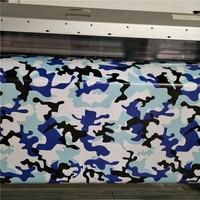 Car Styling Rilascio Dell'aria Camouflage Pellicola Del Vinile Car Wrap Sticker blu nero bianco camouflage vinile Car Wrapping Rotolo
