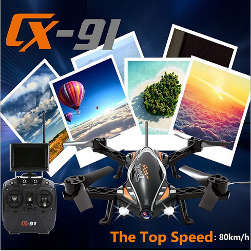 ФОТО newest cheerson jumper cx-91 5.8g fpv rc quadcopter racing drone with 720p hd camera vs cheerson cx22 x380 model rc helicopter
