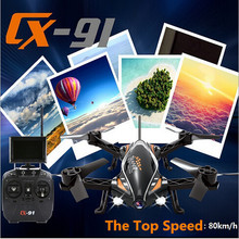 Terbaru Jumper CX-91 5.8G FPV RC Quadcopter Drone Balap dengan 720 P HD Kamera VS cx22 X380 model rc helikopter