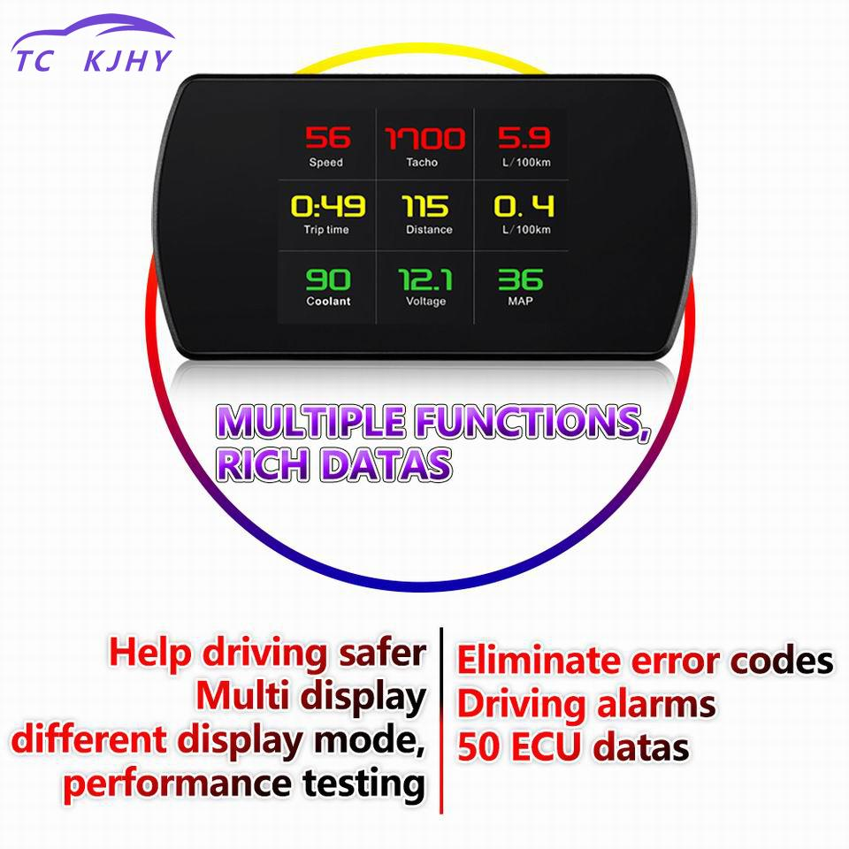 2018 Hud Head Up Display Digital Car Speed Projector On-board Computer Speedometer Windshield Projetor Hud Display Car Car Hud цены