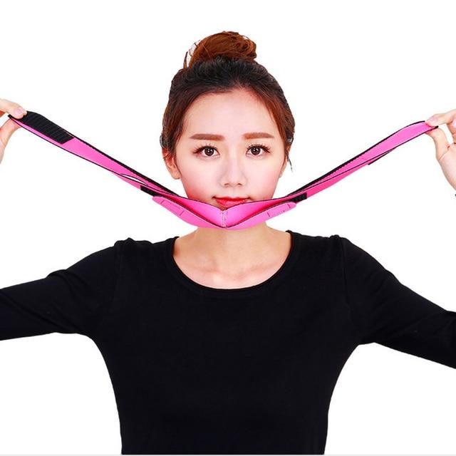 Face Slim V-Line Lift Up Belt Anti Wrinkle Mask Strap Band V Face Line Belt Women Slimming Facial Beauty Tool Dropshipping 3