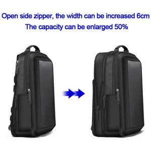 Image 3 - BOPAI Enlarge Anti theft Laptop Backpack USB External Charge 16 Inch Multifunction Backpack Bag Travel Bag Men School Teenagers