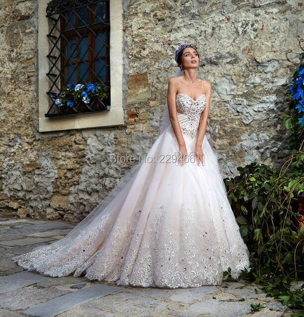 vestidos de novia de bling vestidos de novia vintage de lujo glitter