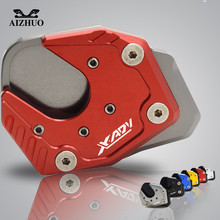 XADV  For HONDA X-ADV 2017 2018 CNC Aluminum Motorcycle Accessories Side Stand Enlarge Foot Kickstand Extension