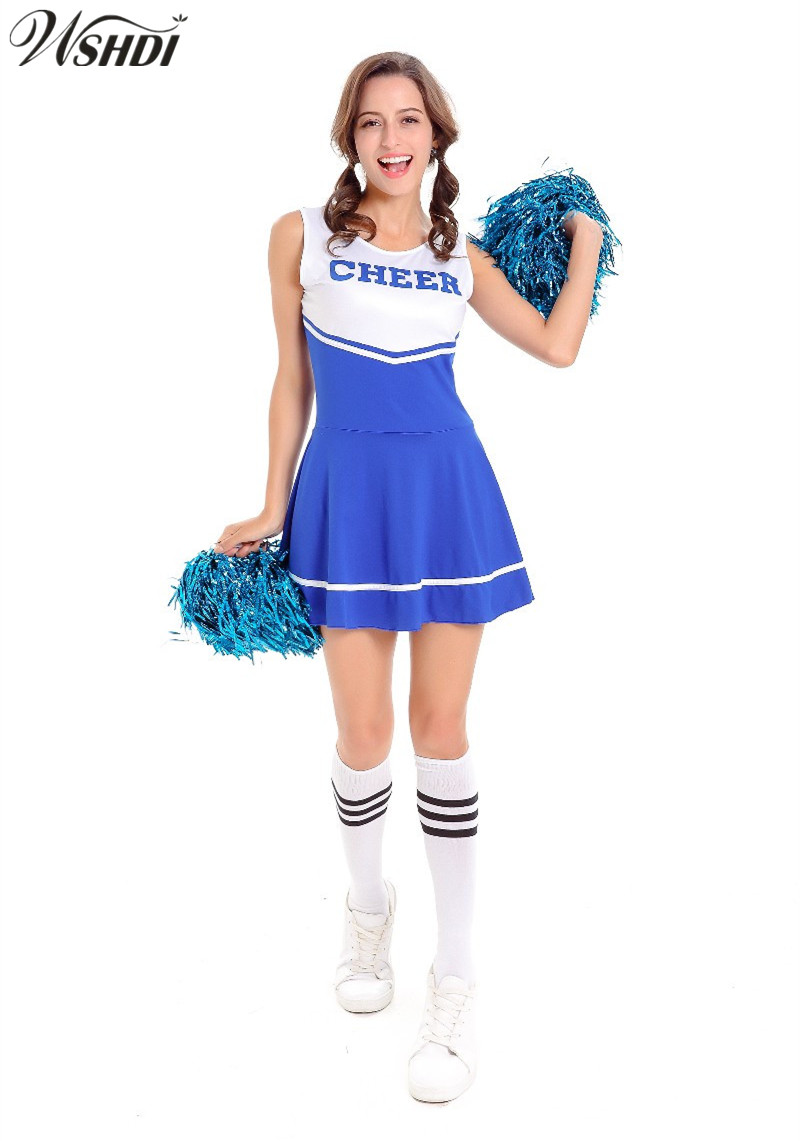New Fashion Glee Style Cheerleading Costume Sexy Girl -8218