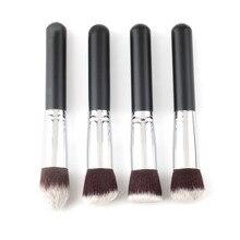 Top Quality!!!4 pcs/lot Professional Synthetic makeup Brush single makeup tool Cosmetic Foundation brush kits make-up brush