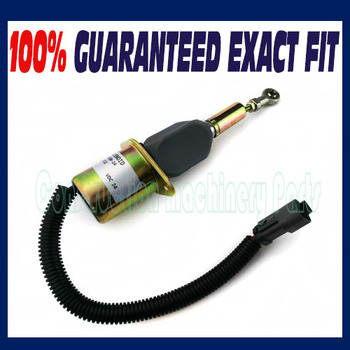 Stop Solenoid 6743-81-9141 D61PX-15/D61EX-15 for Komatsu Bulldozers AA Engine - Fast free shipping