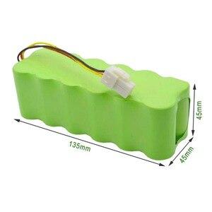 Image 3 - Lowest Price 14.4V 4000mAh NI MH Vacuum Cleaner Rechargeable battery 4.0 Ah For Samsung NaviBot SR8840 SR8845 SR8855 SR889