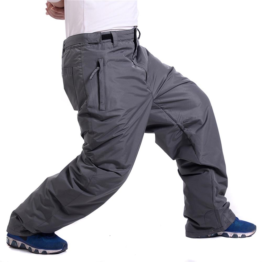 Prix pour Ski pantalon hommes Imperméable Coupe-Vent Chaud Épais de Neige Professionnel Snowboard Pantalon non bib hommes Escalade usure Sport En Plein Air
