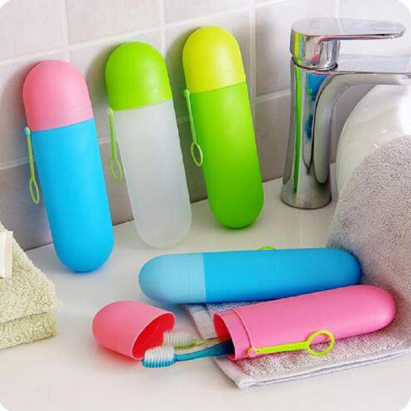 Utazási fogkefe tok fogkefe doboz Utazási készlet Candy Boite De - Szervezés és tárolás