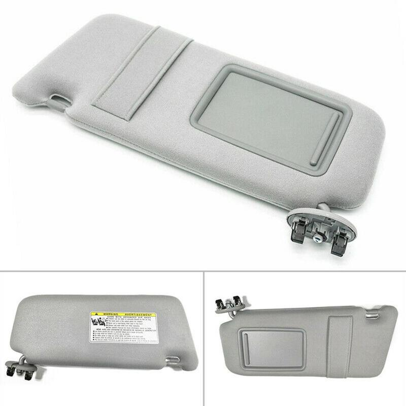 New Left Driver Side Sun Visor Gray For Toyota Camry 2007 2011 Without Sunroof