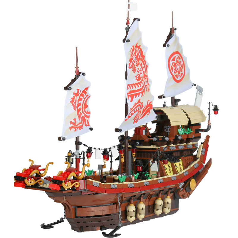 DHL Lepin 06057 2455 stucke Ninja Schluss Kampf Des Schicksals's Bounty Baustein Kompatibel 70618 Ziegel Spielzeug lepin 06058 ninja serie die tempel der ultimative ultimative waffe modell bausteine set kompatibel 70617 spielzeug fur kinder