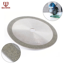цена на Free shipping  180mm diamond saw blade 4 inch for cutting porcelain and ceramic tile cutting blade