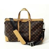 Waterproof Luggage Bag Business Travel Bags Luxury PVC Handbag sac a main Brand Women Shoulder Bag Large Fitness Bag bolso mujer