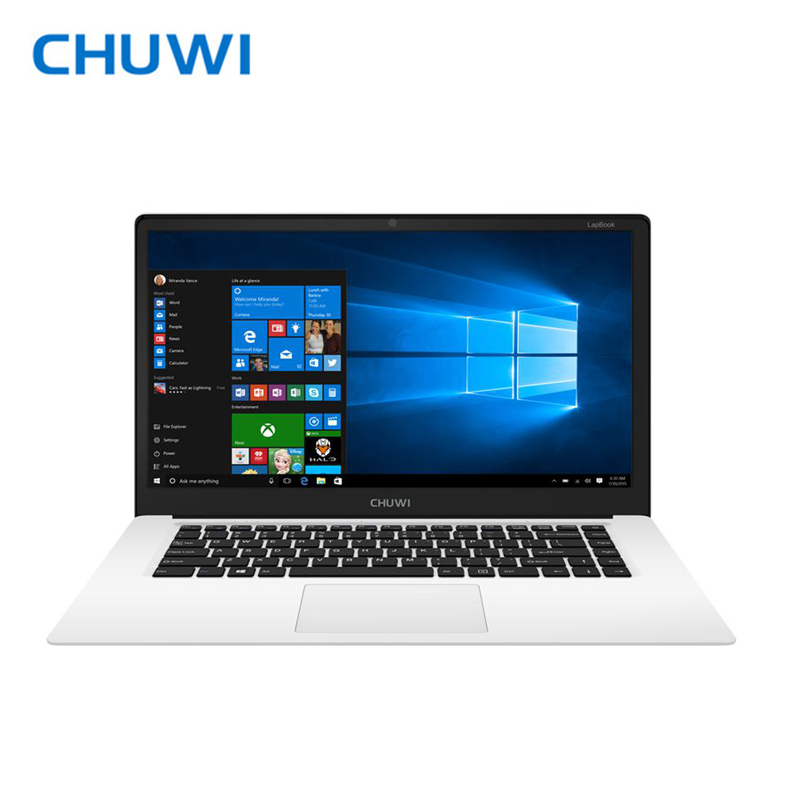 CHUWI Original LapBook 15.6 Inch Laptop Notebook PC Intel Cherry Z8350 Quad core Windows 10 4GB RAM 64GB ROM 1920x1080 original 13 5 inch tablets chuwi hi13 intel apollo lake n3450 quad core windows 10 4gb 64gb tablet pc 3000 x 2000 10000mah