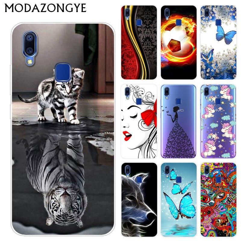 US $1 69 15% OFF|Vivo Y91i Case Vivo Y91 Case Silicone Back Cover Phone  Case For Vivo Y91 Y91i V1807 Y 95 91 i VivoY91 VIVOY91i Painting Case-in