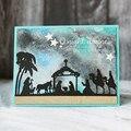 Рождественские металлические режущие штампы, новые трафареты для DIY бумажные карточки для скрапбукинга, ремесло, веселое украшение на Рожд...