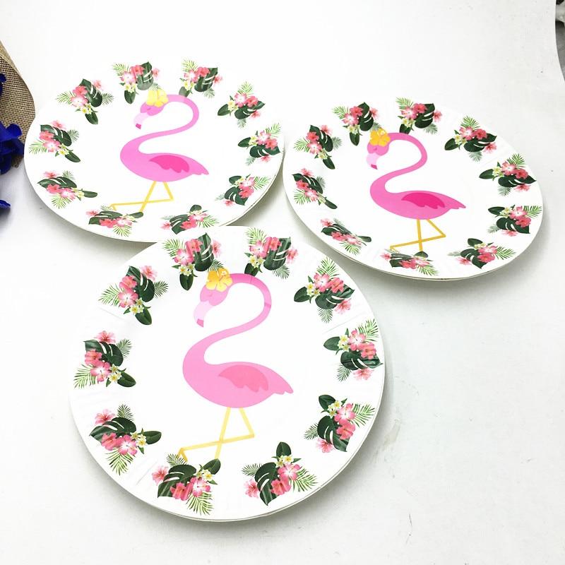 10pcs/lot Flamingo plates birthday party supplies Flamingo paper dishes baby shower Flamingo paper plates  sc 1 st  AliExpress.com & 10pcs/lot Flamingo plates birthday party supplies Flamingo paper ...