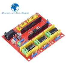 TZT Neue CNC Schild V4 Gravur Maschine/3D Drucker/A4988 Treiber Expansion Board für arduino Diy Kit(China)