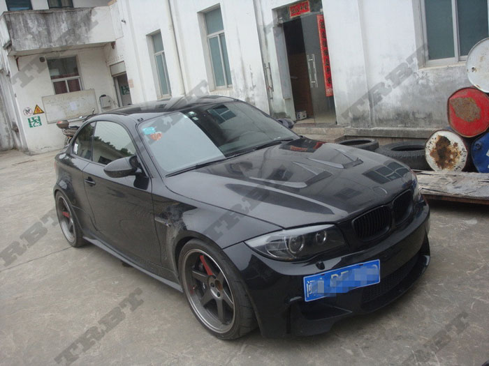 2011-2012 BMW 1M Carbon Fiber Ap Style Hood (6)