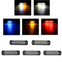 1Pcs 10 LED 12 24V Universal Side Marker Light Indicator Lamp Signal Light For Car Truck